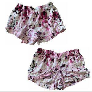Floral Cotton Lounge Shorts